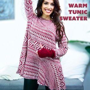 Warm Tunic Sweater